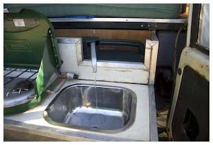 camping sink