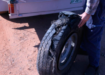 Tyre Outback Road
