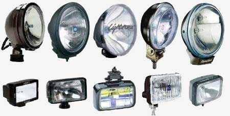 a range of spotlights