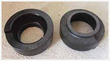 coil spring lift blocks