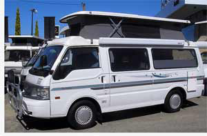 Pop-top Campervan