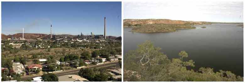 Mt Isa and Lake Moodarra