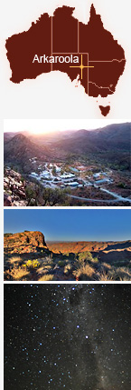 Collage of Arkaroola.