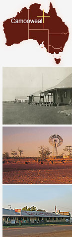 Collage of Camooweal.