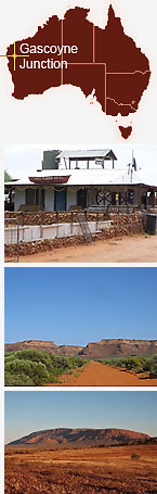 Collage of Gascoyne Junction.