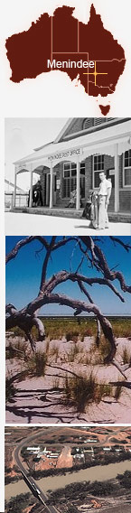 Collage of Menindee.