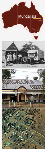 Collage of Mungallala.